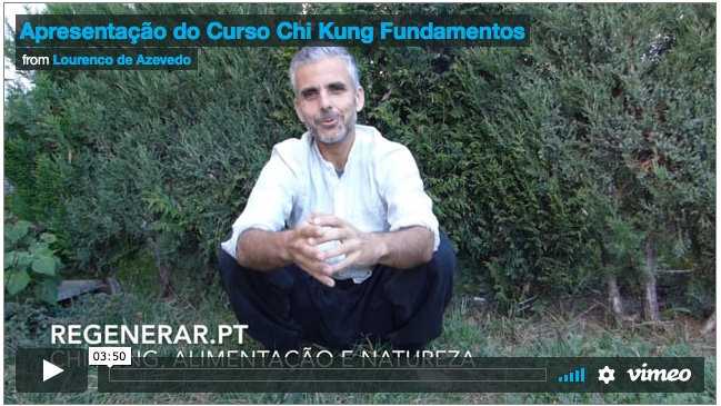 Curso On-line – Chi Kung Fundamentos