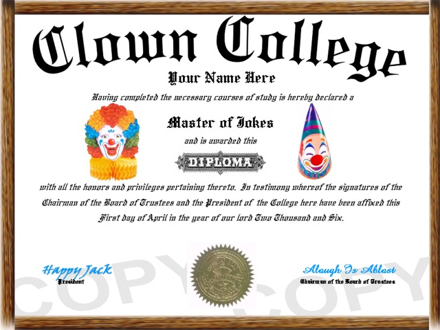 O diploma